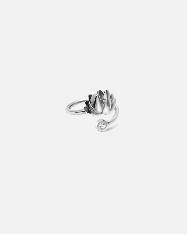 Кольцо на фалангу «Лотос»