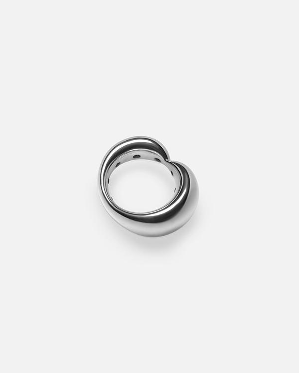 Кольцо Vanity с черными бриллиантами